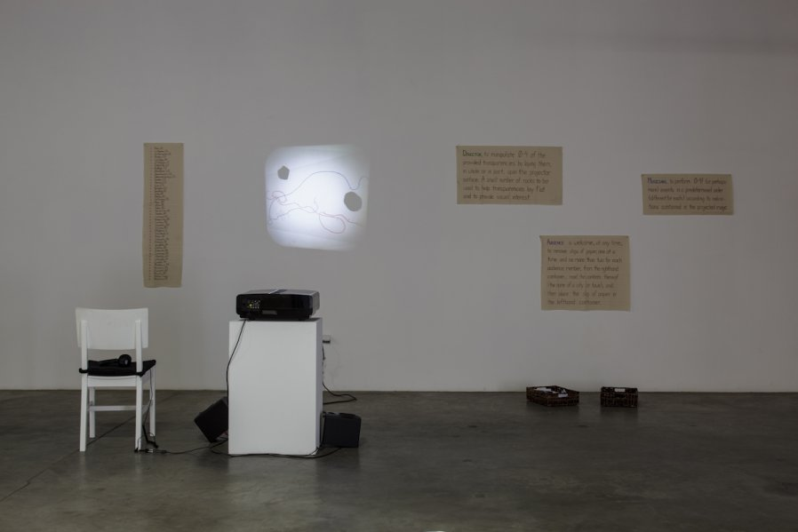 Projections on Elevation Tunes 1967/2012  Installation View Photo: Fredrik Nilsen