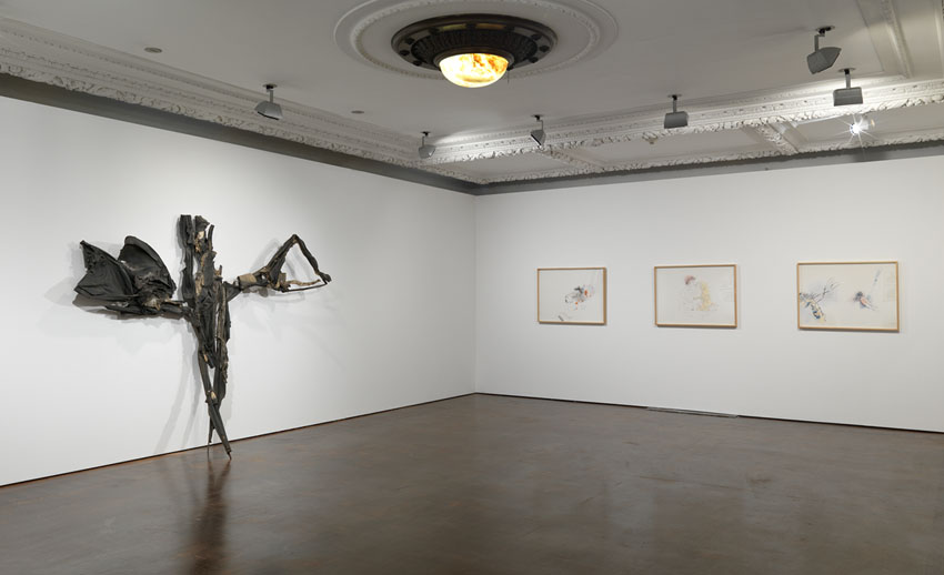The Historical Box London 2012 Installation View Photo: Alex Delfanne Image courtesy of Hauser & Wirth