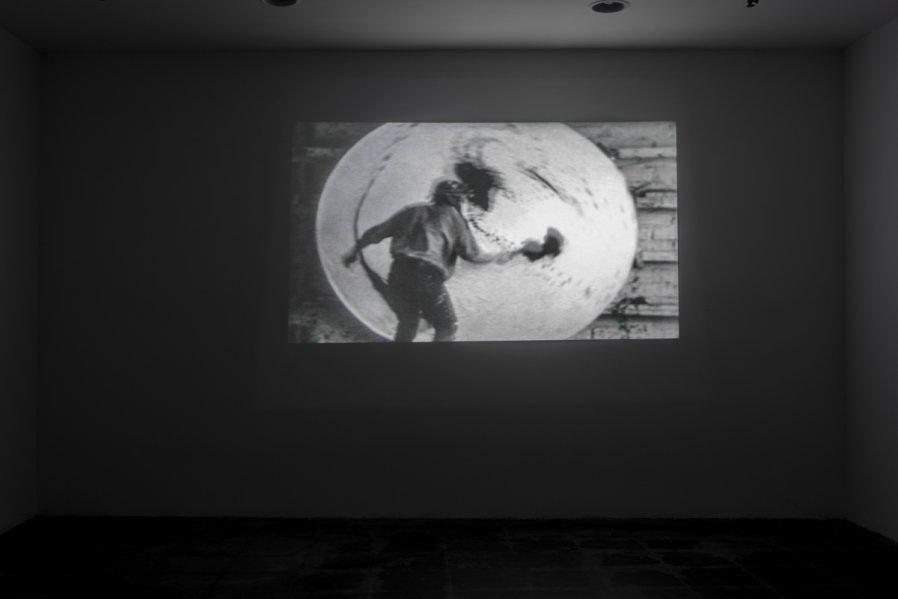 Alfons Schilling Installation View Cosmos Action Painting / Desperate Motion 1962 Photo: Fredrik Nilsen