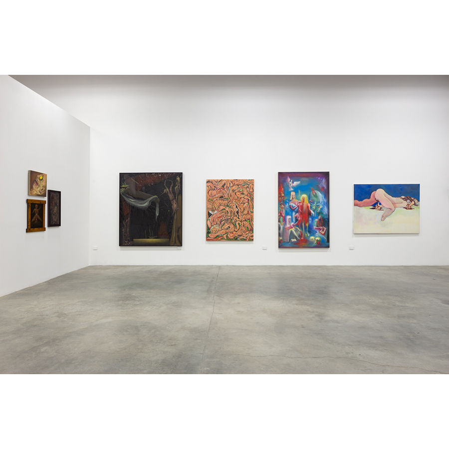 Painters of Modern Life Curated by Mitchell Algus Installation View  2014 Photo: Fredrik Nilsen
