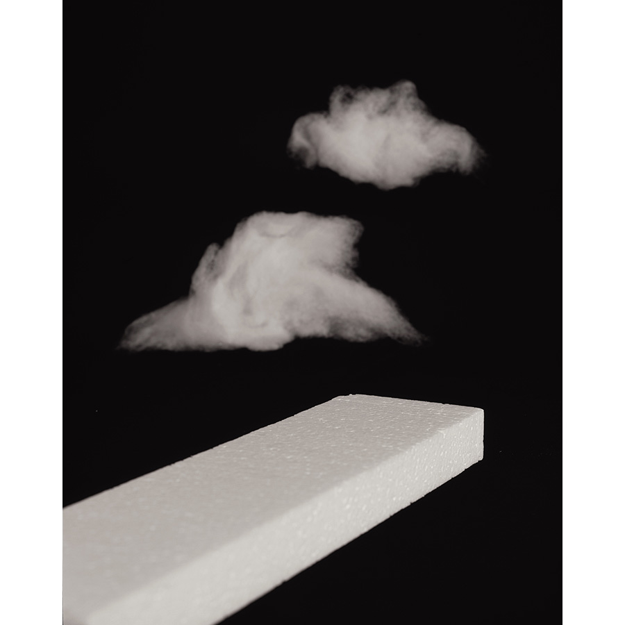 Sarah Conaway [Styrofoam] and {Clouds} 2015 Chromogenic Print Photo: Fredrik Nilsen Studio