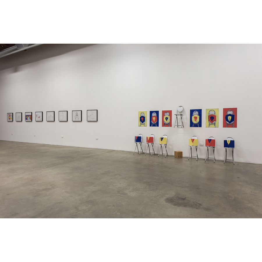 The Painting Sheds & Paris 2015 Installation View Photo: Fredrik Nilsen