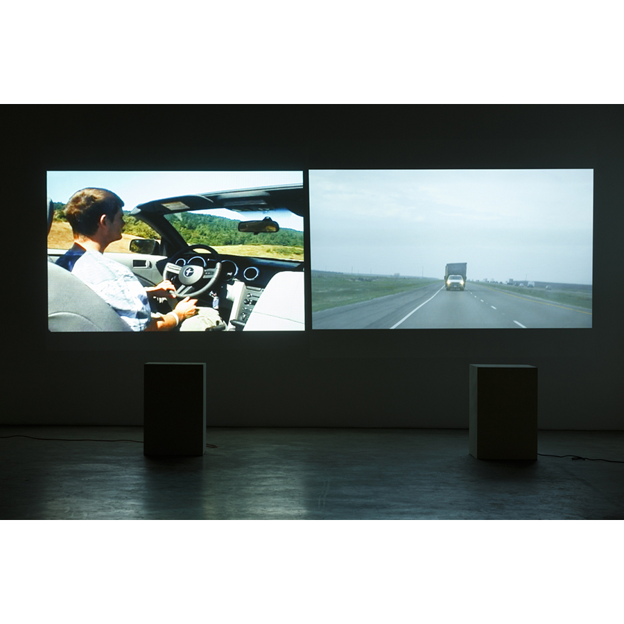 The Painting Sheds & Paris 2007, 2015 Video Installation View Photo: Fredrik Nilsen